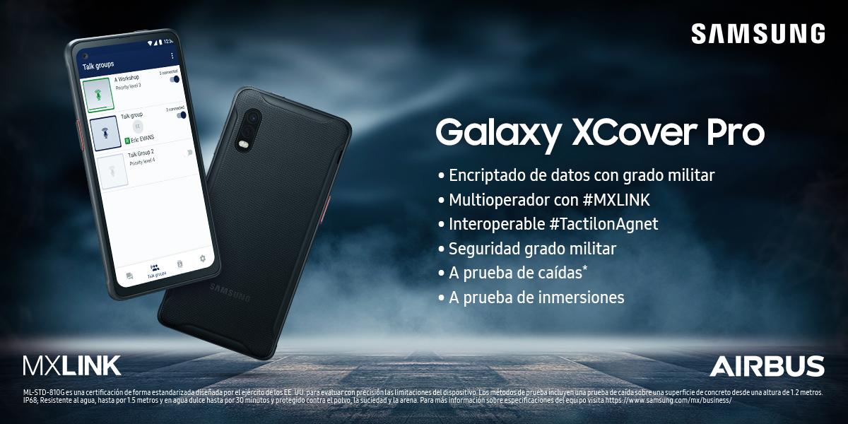 Samsung Galaxy XCover Pro en MXLINK
